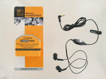 Wireless Accessories W.A.S.P. Handsfree Stereo Universal Headset (Black)