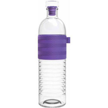 Leapfrog Ello Percy BPA-Free Glass Water Bottle with Stopper, 22 oz