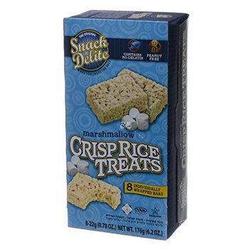 The Original Snack Delite Marshmallow Crisp Rice Treats 6.2 oz. Pk Of 3.