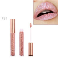 Fullkang FOCALLURE Fashion Bling Lipstick Cosmetics Sexy Metallic Lip Gloss