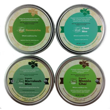 Heavenly Tea Inc. Heavenly Tea Leaves World Tea Sampler, 4 Count
