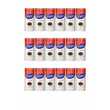 N'Joy Sugar Canisters, 20 Ounce, (Pack of 6) (18 pack)