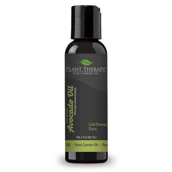Plant Therapy Avacado Cold-Pressed Pure Carrier Oil 2 fl. oz.