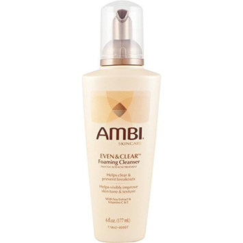 AMBI SKINCARE EVEN & CLEAR FACIAL FOAMING CLEANSER 6oz [PACKAGE VARY]