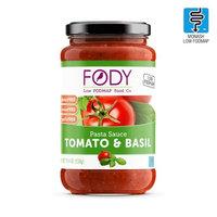FODY - Low FODMAP Tomato & Basil Pasta Sauce 550g (19.4oz)