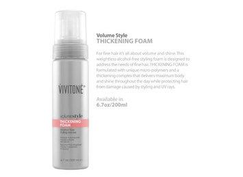 Vivitone volumestyle Thickening Foam, 6.7 oz.