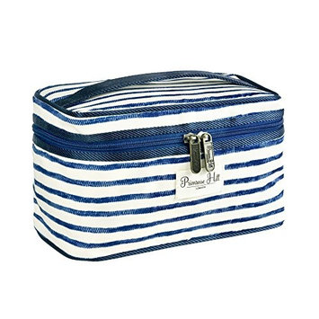 Primrose Hill Nautical Birds Collection Cosmetic Train Case