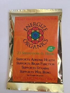 23 Herbs & Superfoods with Stevia Energize Organics 48 grams Powder
