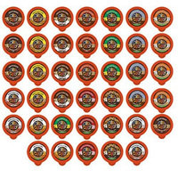 40-count CRAZY CUPS DECAF FLAVORED COFFEE Single Serve Cups For Keurig K Cup Brewers Variety Pack Sampler