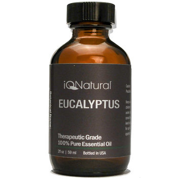 IQ Natural 100% Pure Undiluted EUCALYPTUS Essential Oil Therapeutic Grade 2 Oz
