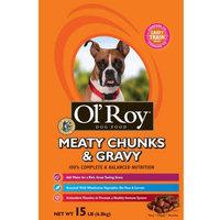 Ol' Roy Meaty Chunks and Gravy Dog Food, 15 lbs