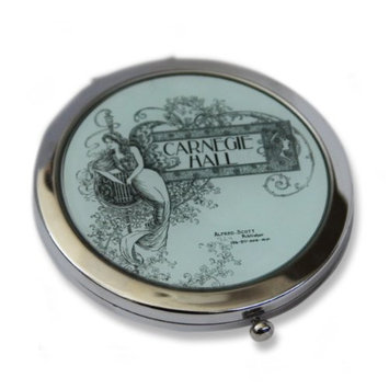 Carnegie Hall Compact Mirror (Green)