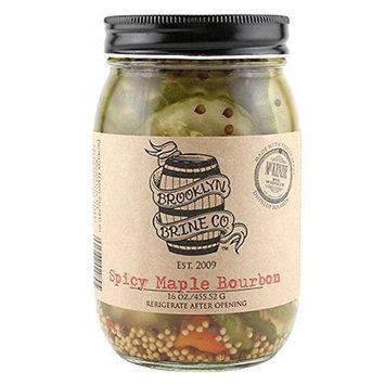 Brooklyn Brine Spicy Maple Bourbon Pickle 16 oz Jars - Pack of 1