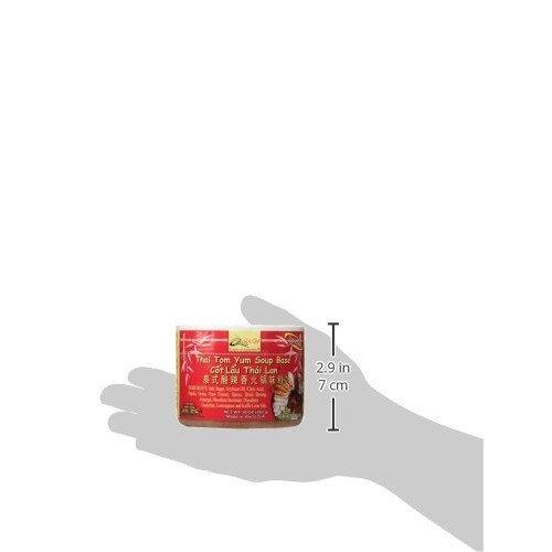 Quoc Viet Foods Thai Tom Yum Flavored Soup Base, 10 oz jar (1 unit)