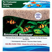 Penn-plax Inc. AMMONIA REMOVER PADS 10 X 18