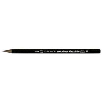 Alvin 97-6B Woodless Graphite Pencil 6B