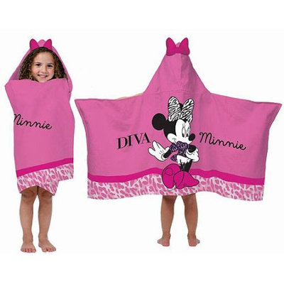 Desigual Disney Diva Minnie Hooded Towel