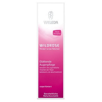 Weleda Smoothing Eye Cream, Wild Rose, 0.34 Ounce