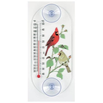 Aspects Incorporated ASP062 Aspects Cardinal Pair Window Thermometer
