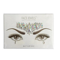 Fenleo 1PC Stickers Crystal Temporary Eyes Tattoo Transfer Eyeshadow Eyeliner Face Stickers