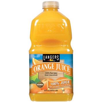 Langer Juice Company Langers 100% Juice Orange, 64 oz