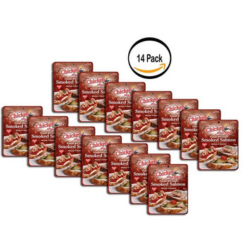 PACK OF 14 - Chicken of the Sea Wild-Caught Smoked Salmon Skinless & Boneless 3 oz. Pouch