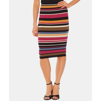 Oasis Striped Pull-On Skirt