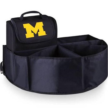 Picnic Time 715-00-179-344-0 University of Michigan Digital Print Trunk Boss in Black with Cooler