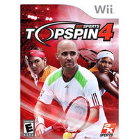Take-two Top Spin 4 Wii Game 2K SPORTS