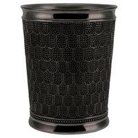 Chatelaine Wastebasket Gunmetal - Allure®