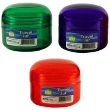 iGo 2 oz Travel Pill Jars, 6 count