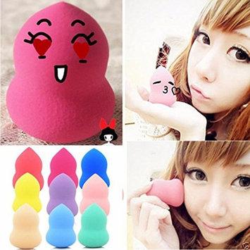LUNIWEI Beauty 9PCS Gourd-Shaped Sponge Flawless Make-Up Puff(Random Color)
