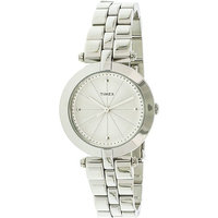 Timex Women's Style Elevated TW2P79100 Silver Stainless-Steel Quartz Fashion Watch