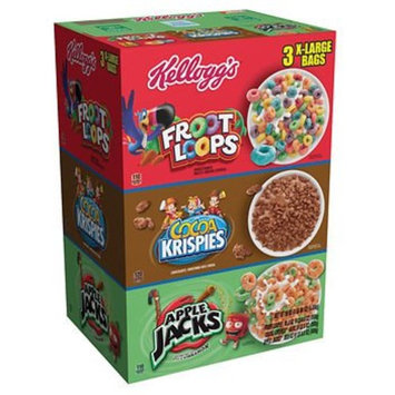Kellogg Tri-Fun Cereal Pack, (58 oz.) x2 AS