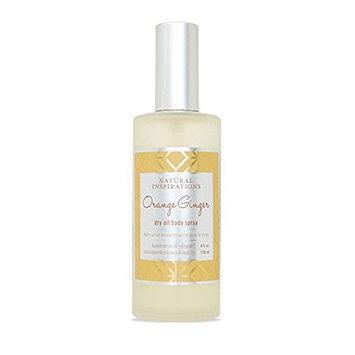 Natural Inspirations Orange Ginger Dry Oil Body Spray [Orange Ginger]