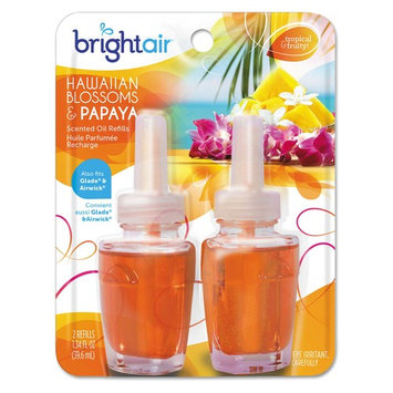 BRIGHT Air® Electric Scented Oil Air Freshener Refill, Hawaiian Blossoms and Papaya, 2/Pack   PJP Marketplace