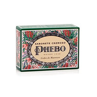 Linha Mediterraneo Phebo - Sabonete em Barra Cremoso Cedro do Marrocos 100 Gr - (Phebo Mediterranian Collection - Creamy Bar Soap Moroccan Cedar 3.5 Net Oz)