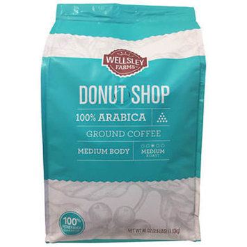 Wellsley Farms Donut Shop Ground Coffee, 40 oz.