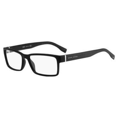 Boss (hub) Boss 0686 Eyeglasses 0HXJ 55 Black Carbon [eyewear_frame_size: eyewear_frame_size-55]