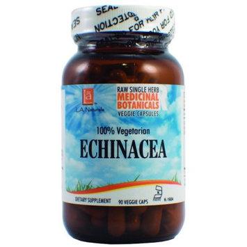 L A Naturals Echinacea Raw Herb 90 VGC