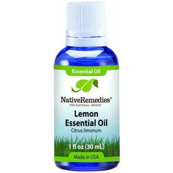 Aswechange NativeRemedies Lemon Peel Essential Oil 30mL, 30 mL