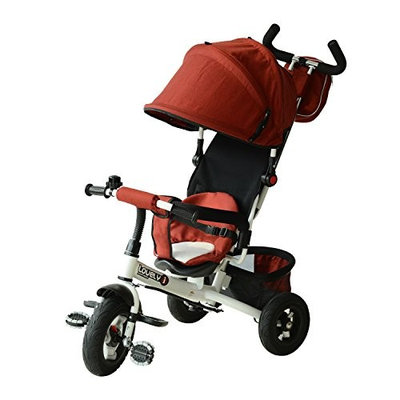 Qaba 2-in-1 Lightweight Tricycle Baby Stroller