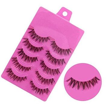 Bestpriceam 5 Pairs Fashion Natural Handmade Soft Long False Eyelashes Makeup Z-1