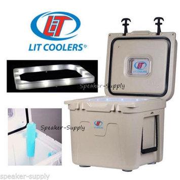 Lit TS3006000OX22Q 22 qt Lit Cooler White
