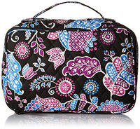 Vera Bradley Large Blush & Brush Makeup Case in Alpine Floral