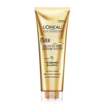 L'Oreal Paris EverCreme Sulfate-Free Moisture System Nourishing Shampoo, 8.5 Fl Oz + LA Cross Blemish Remover 74851