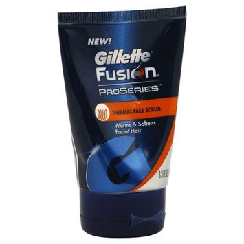 Fusion Proseries Face Scrub, Thermal, 3.3 Oz (Pack of 3)