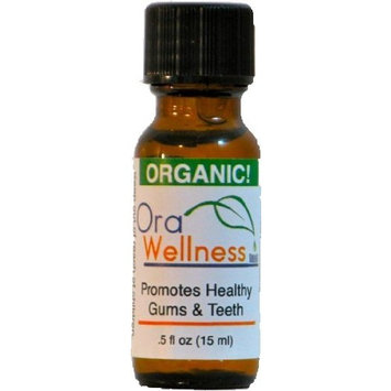 OraWellness HealThy Mouth Blend Tooth Oil, Organic Toothpaste & Mouthwash Alternative With Clove Oil Promotes Healthy Teeth & Gums, 1 Pack