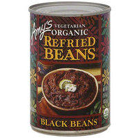 Amy's Kitchen Amy's Organic Vegetarian Refried Black Beans, 15.4 oz (Pack of 12)