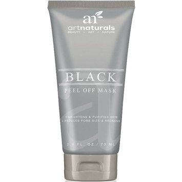 ArtNaturals Peel Off Blackhead Remover - 2.4oz Acne & Pimple Removal Face Mask - Black Head Tool, Purifying Deep Cleanser & Mud Mask – Reduce and Minimize Pore Size & Redness - For Acne-Prone Skin